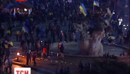 Евроактивисты возвращаются на Майдан Независимости после пикетов