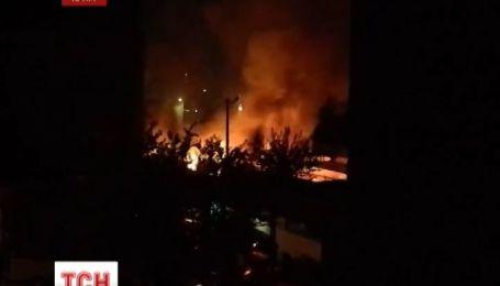 В Евпатории сгорел овощной рынок