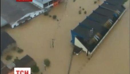 Бразилию повредили торнадо и наводнением
