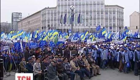 Мемориальный марш состоялся в центре Киева