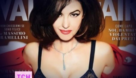 Чарівна Моніка Белуччі знялась у еротичній фотосесії журналу Vanity Fair
