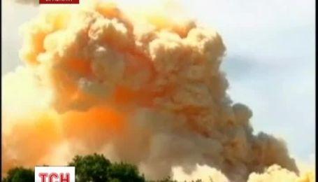 120 человек госпитализированы из-за пожара на фабрике удобрений в Бразилии