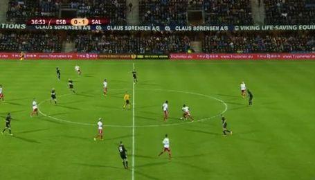 Есб'єрг - Зальцбург - 1:2. Відео матчу
