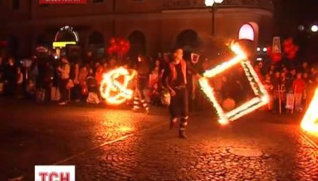 День святого Мартина в Мукачево отметили грандиозным шоу