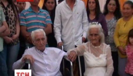 Пара прожила вместе 80 лет, прежде чем обвенчаться