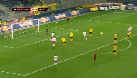 Зальцбург - Ельфсборг - 1:0. Відео голу Алана