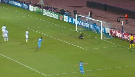 Наполи - Олимпик - 1:1. Видео гола Инлера