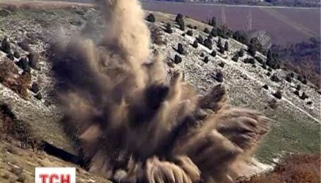 В Севастополі знищили однотону бомбу