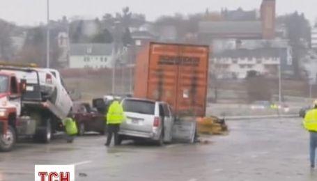 У США аварія за участю 70 машин розтягнулася на 500 метрів
