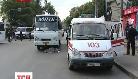 В Одесі автобус на смерть збив жінку