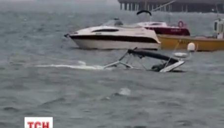 В Евпатории ночью затонули два катера