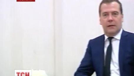 Медведєв пророкує Україні проблеми у відносинах із Росією у разі підписання угоди про асоціацію з ЄС