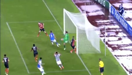 Реал Сосьєдад - Шахтар - 0:1. Поперечина рятує гірників