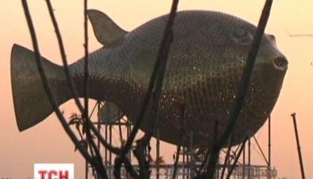 Пам'ятник рибі спричинив скандал у Китаї