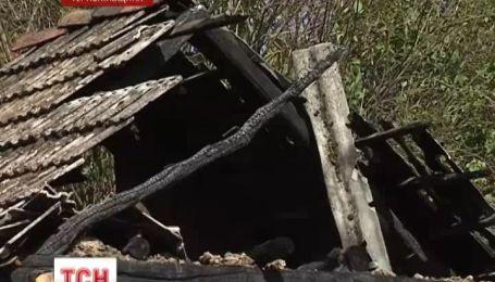 Серийный поджигатель держит в страхе Тернопольскую область