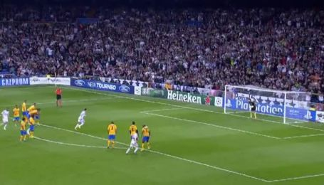 Реал - Ювентус - 2:1. Видео гола Роналду