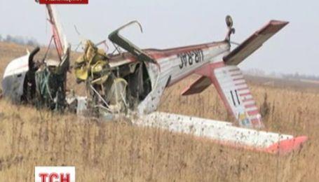 Члены спортклуба пытались скрыть аварию самолета на Ровенщине