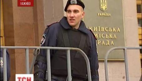 Опозиція стягує сили під Києвраду в очікуванні чергового засідання