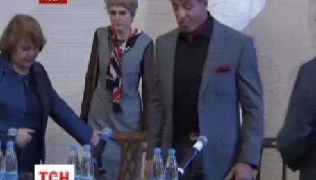 Сильвестр Сталлоне представил в России выставку собственной живописи