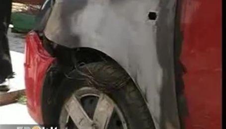 На Закарпатье массово горят машины чиновников