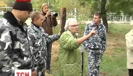 Херсонці боронять парк від забудовників