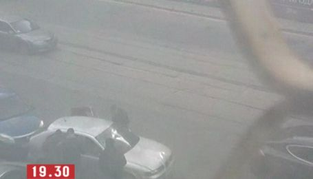 В центре Киева неизвестные устроили стрельбу