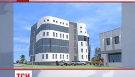Во Львове строят новый прозрачный офис для милиции