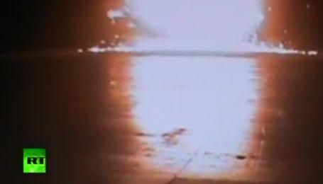 Камеры зафиксировали авиакатастрофу в Казани