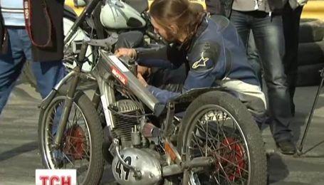 Отечественные байкеры установили рекорд Украины