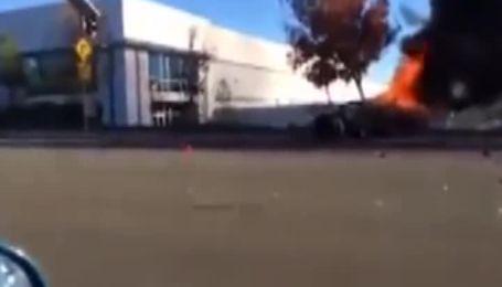 В інтернет потрапило відео фатальної аварії з Полом Вокером