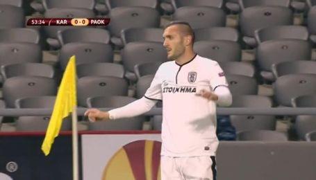 Шахтер Караганда - ПАОК - 0:2. Видео матча