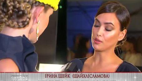 Супермодель Ирина Шейк в Украине лакомится национальными блюдами