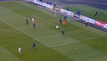 Ворскла - Чорноморець - 0:1. Відео матчу