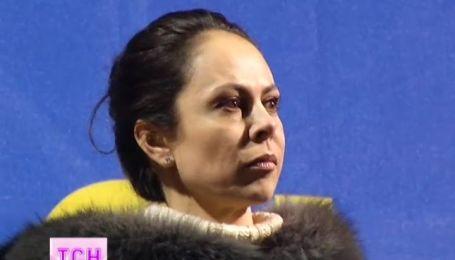 Жену Виталия Кличко корреспонденты встретили на Евромайдане