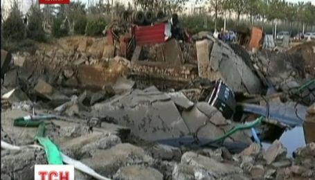 Взрыв нефтепровода в Китае унес жизни 47 человек