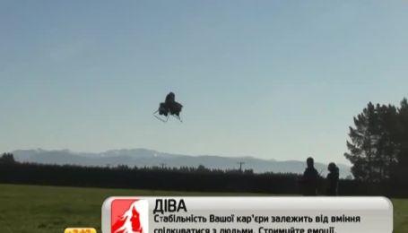 Группа американских разработчиков представила летающий мотоцикл