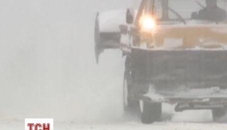 Аномальные снегопады парализовали часть США