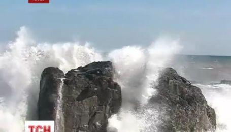 Крым атакуют сильные дожди и сильный ветер