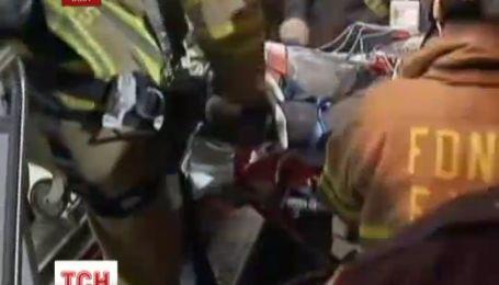 В Нью-Йорке едва живым вытащили студента, застрявшего между зданиями