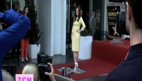 Джулианна Мур получила собственную звезду на аллее славы в Голливуде