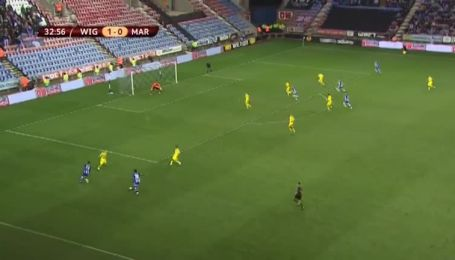 Віган Атлетик - Марібор - 2:0. Відео голу Вотсона