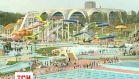 В Северной Корее открылся первый аквапарк