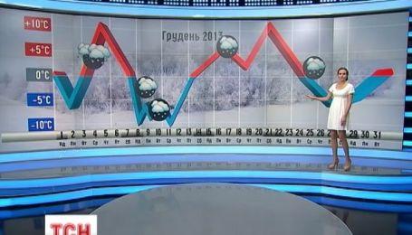 Зима прийде 1-го грудня із морозами та снігами