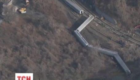Машинист поезда, который накануне сошел с рельсов в Нью-Йорке, потерял концентрацию