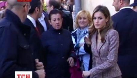 Іспанська принцеса вразила країну своєю увагою до проблем простих людей
