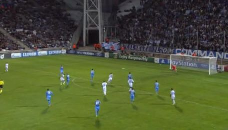 Олимпик Марсель - Наполи - 1:2. Видео гола Андре Айю