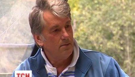 Ющенко на тракторі розповів про проблеми з дітьми та Єфросиніну, яку запрошував на город
