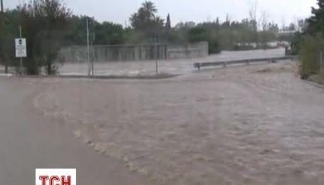 На итальянском острове Сардиния из-за наводнений погибли девять человек