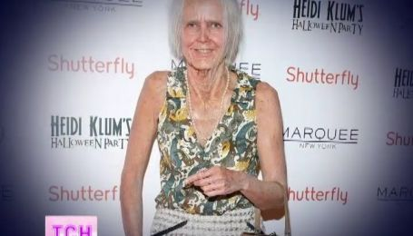 Хайди Клум на несколько часов превратилась в старую бабку