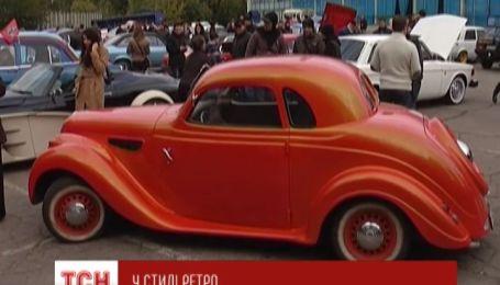 В Днепропетровске прошла выставка уникальных ретро авто